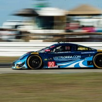 Front Row Start for Visit Florida Racing At Mazda Raceway Laguna Seca