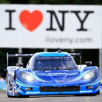 Rain Takes Shine Off Bright Day for VISITFLORIDA.COM Corvette DP at Watkins Glen