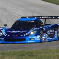 Podium Prevented by Penalty for Visit Florida Racing at Mazda Raceway Laguna Seca