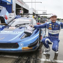 RICHARD WESTBROOK BLISTERS THE FIELD IN QUALIFYING FOR THE PETIT LE MANS IN THE VISITFLORIDA.COM CORVETTE DP