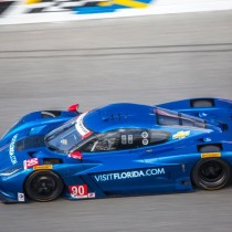 Successful Test for Visit Florida Racing at Daytona International Speedway
