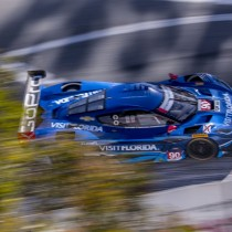 Visit Florida Racing Scores Sixth at Long Beach