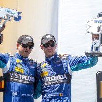 Teamwork Sees Visit Florida Racing Score Second in Continental Tire Monterey Grand Prix