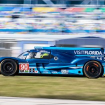 VISIT FLORIDA Racing Tests Riley-Gibson at the Roar Before the 24